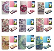 Wallet Style Magnetic Flip Stand TPU+PU Leather Case for Samsung Galaxy S4 I9500