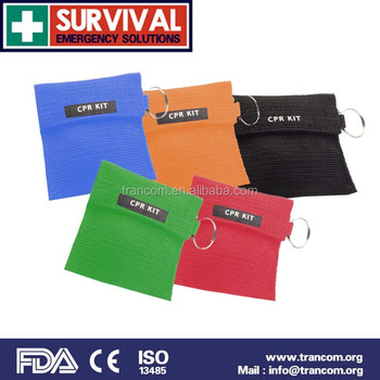 mini first aid kit/CPR Mask Kits/CPR Breathing Mask TR005