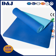 Foldable yoga mat for beginners anti slip portable travel sport mat 15 or 20mm fitness mat