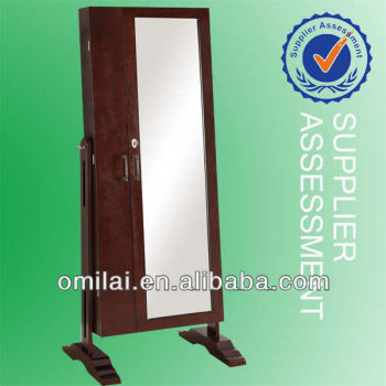 double door mirror jewelry armoire