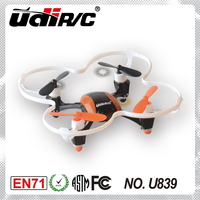 2014 NEW! 3D 2.4Ghz 4 CH 6 AXIS mini quad copter U839