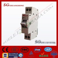 dual power DIN RAIL SF CHANGEOVER SWITCH modular change over switch