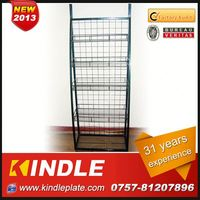 OEM/Custom Metal scarf rack display from kindle in Guangdong with 32 Years Experience and High Quality