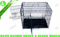 Wire Folding Pet Crate Dog Cage ,cheap iron dog cage (DSA24)