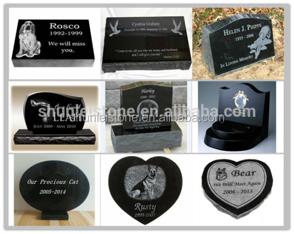 custom pet headstone