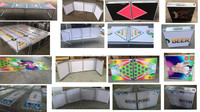 8ft beer pong folding table