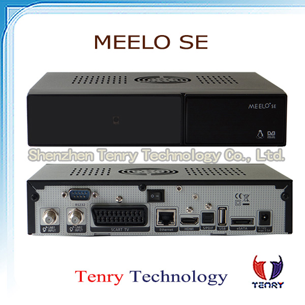 Meelo+ se same as VU SOLO 2 SE Original Software Twin tuner Satellite Receiver Linux 1300