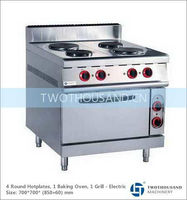 Cooking Range with Hot Plate - Electric, With Oven, 14000 Watt, TT-WE158D