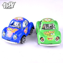 Promotional plastic Beatles kids mini pull back car toy for kids