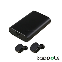Selling Crazy Super Mini TWS Wireless Earbud Bluetooth Earbuds 4.2 Dual Stereo Wireless Handsfree In-Ear headset with power bank