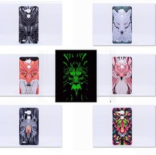 Head Cute Animal Faces Series hard Back Phone Case Cover For Huawei Mate 7