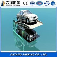 CE&ISO Hydraulic 2 level portable car garage