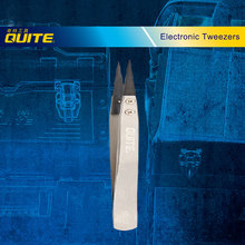 High Quality ESD Series Exchanged tip Anti-static Stainless Tweezers