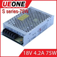 AC/DC 72w single output 18v 4a switching power supply