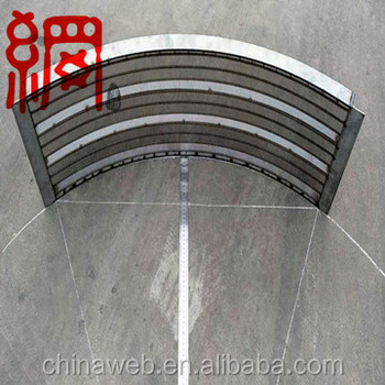 good quality wedge wire screen panel and bend sieve
