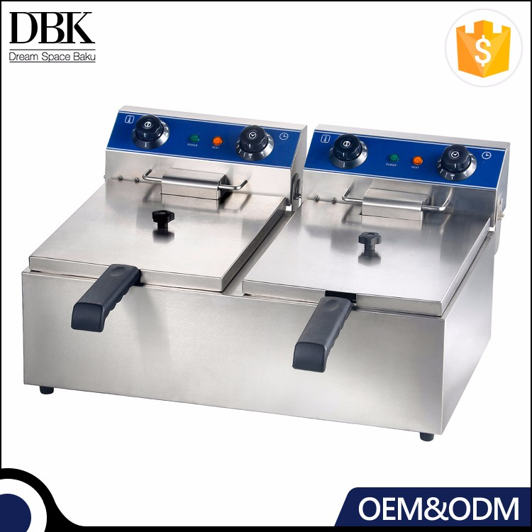 Commercial Electric Chicken Deep Fryer/Electric Deep Frying Machine/Commercial Potato Chips Deep Fryer For Sale