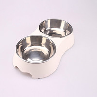 Hot sale new plastic pet food container/ silicone pet food bowl for dogs cats