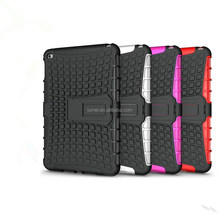Lasted New Arrive Shockproof Rugged Kickstand Case For Ipad Mini 4 7.9""