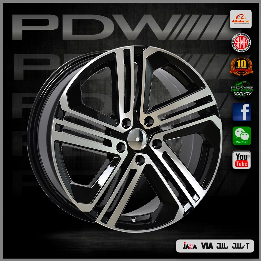 PDW alloy wheels for honda with Australian design, China aluminum rims factory