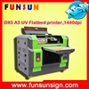Funsunjet A3 SIZE DX5 head id card printer china UV printer