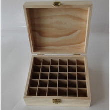 Holds large pine wooden 59 5-15ml Doterra essential oil case box for For Travel & Presentations
