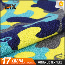 New arrival fashion design yarn dyed woolen polyester fabric for garments