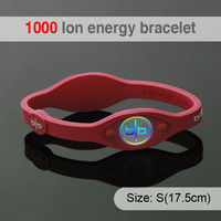 1000 ion Fashion Silicone Health Basketball Adjustable Customized Design Your Own Wristband
