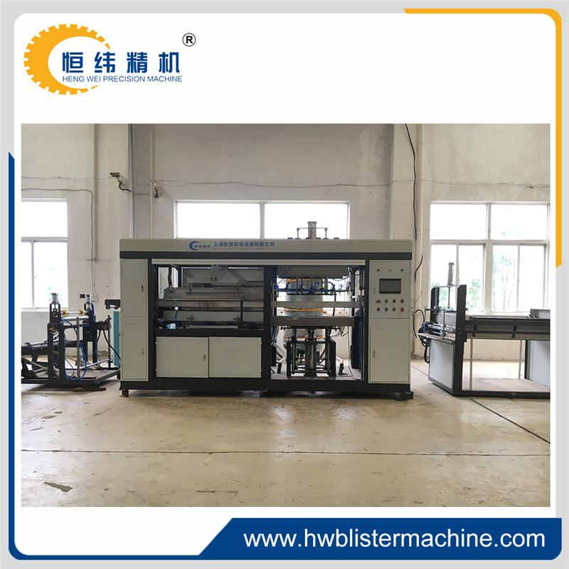 Cheap plastic egg tray plastic making thermoforming machine supplier