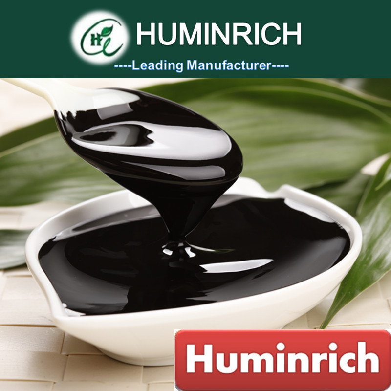 Huminrich Necessary Elements Reduces Fertilizer Runoff 12%Ha+1%Fa+1%K2O Leonardite Humic Acid Organic Liquid Fertilizer