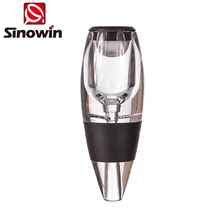Professional Manufacturer Magic Wine Aerator with food grade silcione acrylic produced