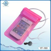 IPX8 water sports branded silicone waterproof case for iphone 4