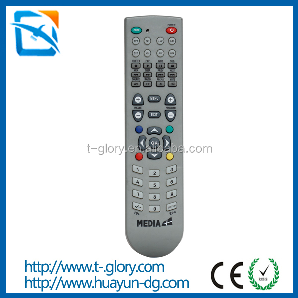 8 in 1 universal code remote tv china tv remote control
