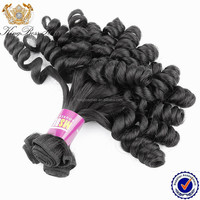 2016 Hot Sale New Hair style russian aunty bouncy curly hair