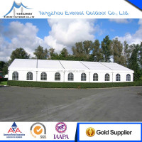 festival sporting events warehousing weddings party trade show clearspan frame white pvc tent marquee