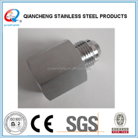Stainless MJIC X Male BSPP Port Straight Adapter