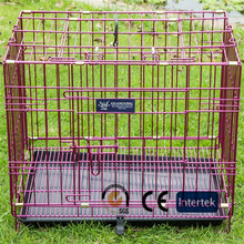 Aluminum dog trolley custom made dog cages