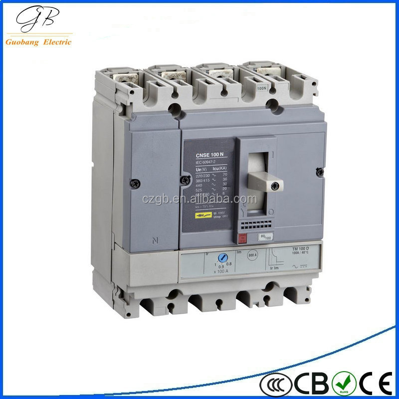 mccb 250amp moulded case circuit breaker NSX