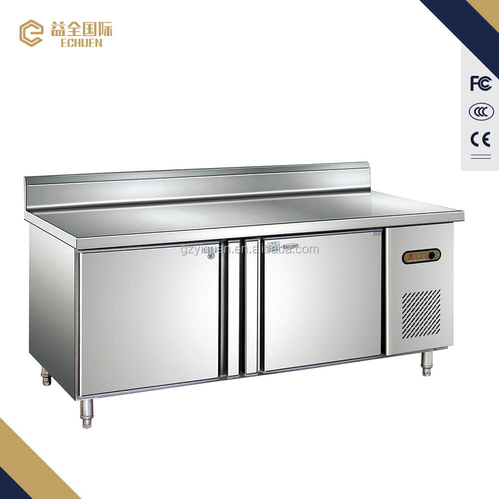 D0.48L2B magnetic door stainless steel display refrigerator,Inflatable buffet counter fridge