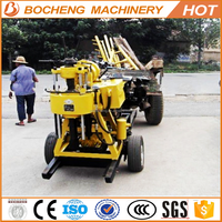 water well drilling rig price/ hand water well drilling equipment/ portable water well drilling rig