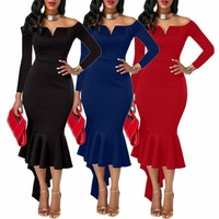 New design plus size women's evening dress with high quality