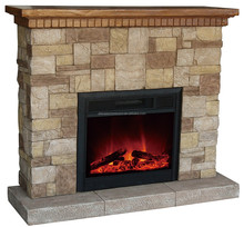 Classic Flame Simulated Log Set Electric Fireplace No Heat with Cheap Price