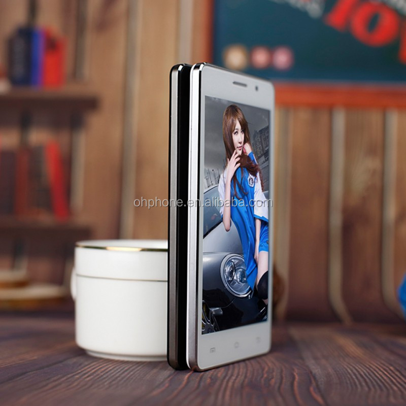 High end 5.0 inch touch screen support 32g android low price mobile phone