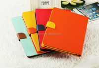Cusotmized fashion design new arrival tablet Pc case leather for ipad air cover