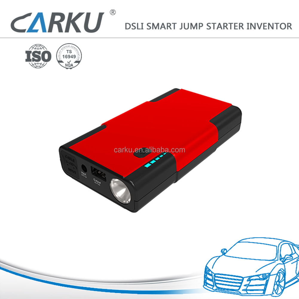Carku mini multi-function jump starter 12v multi-function auto emergency start power