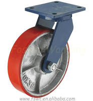 Super Heavy Duty Polyurethane Rotating Locking Caster Wheel