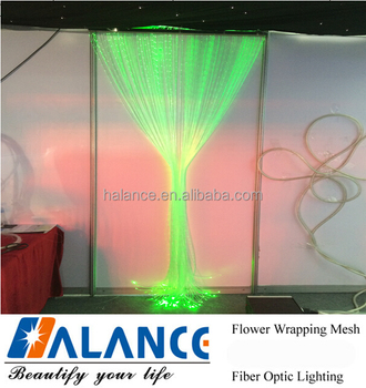 2017 Optical Fiber Waterfall curtain design