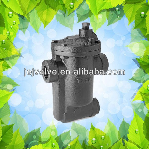 Casting/brass/stainless steel thermostatic steam trap for drain valves