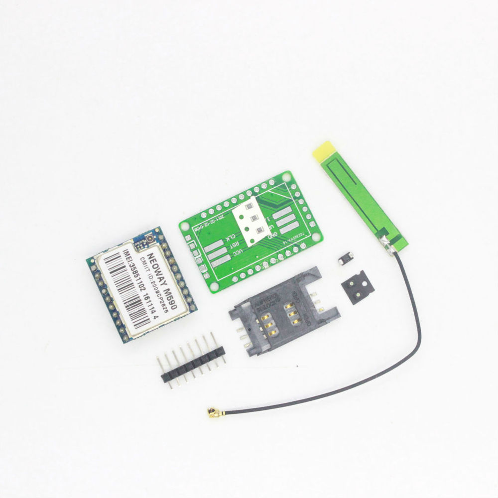 10pcs/lot DIY KIT GSM GPRS M590 gsm module Short Message Service SMS module for project for new and original remote sensing ala