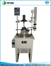 Lab Supplies Continuous Stirred Single Layer Glass Reactor/Biodiesel Machine/Tank Reactor