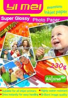 wholesale hot selling A4 photo papers